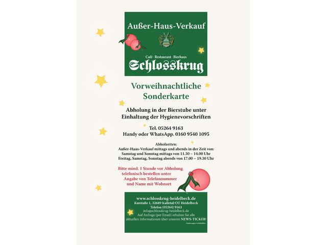 Schlosskrug in Heidelbeck